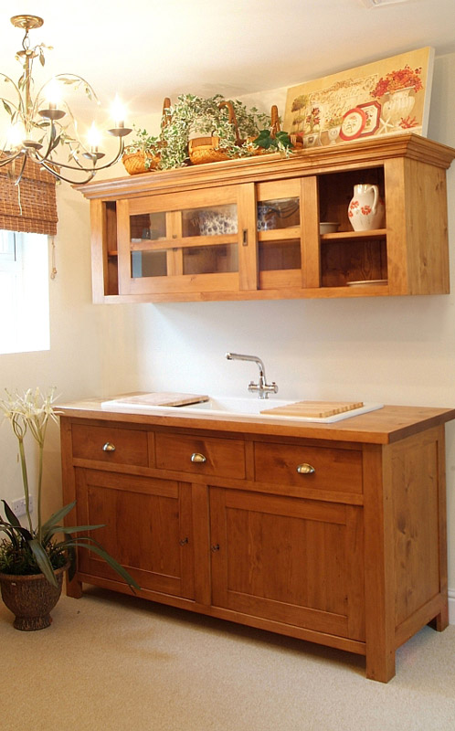 Inset sink unit