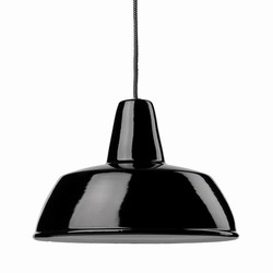 Spread beam lamp spotlight 350 black