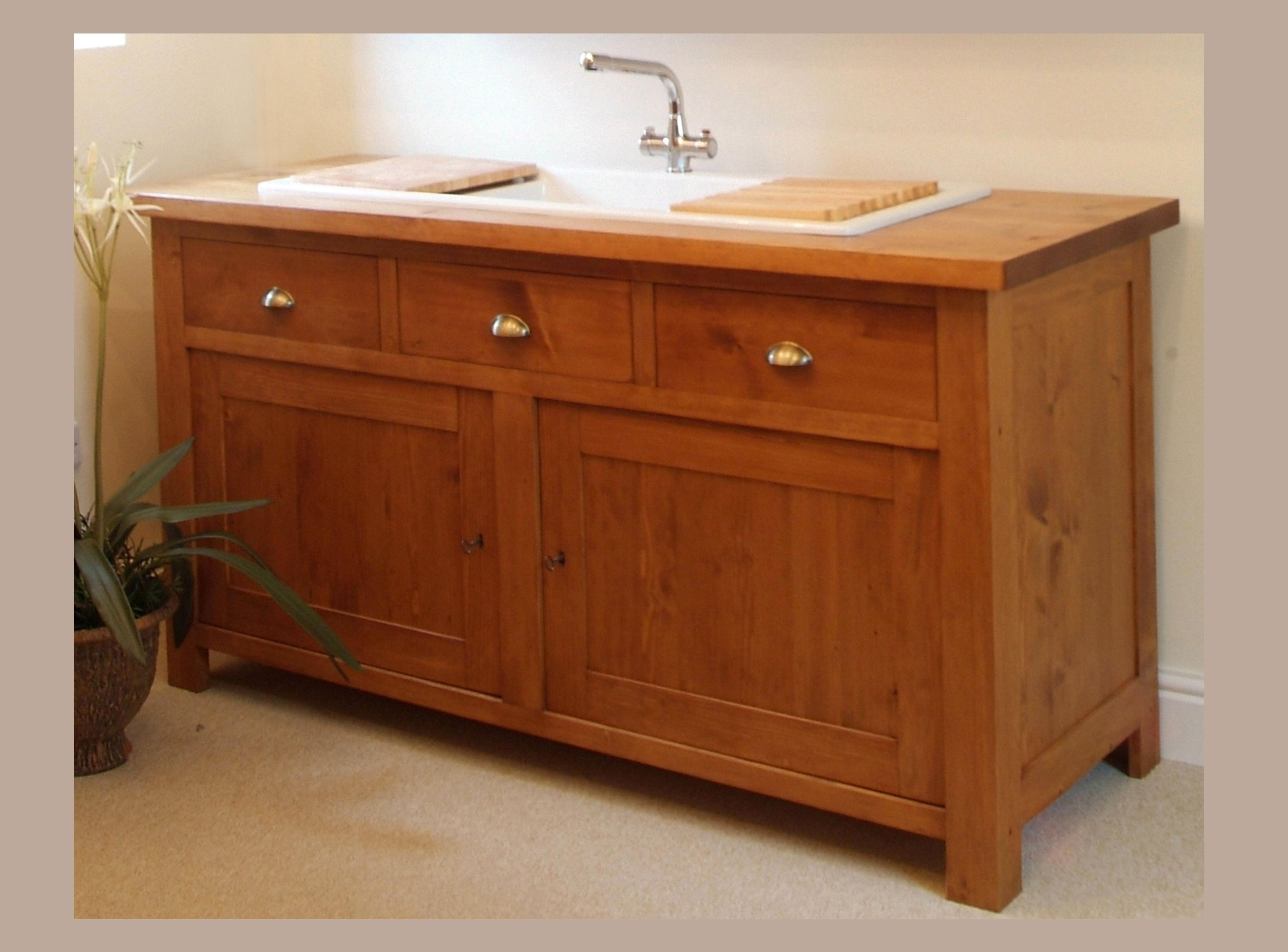 Shaker style freestanding inset sink unit kuchyne bohemian cz